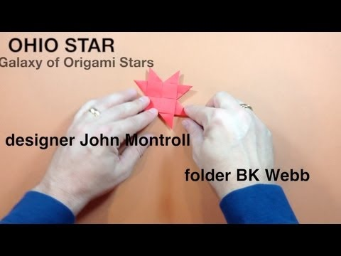 Ohio Star by John Montroll