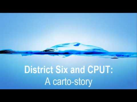 District Six and CPUT: a carto-story