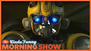 Bumblebee Movie Trailer Reacts - The Kinda Funny Morning Show 06.05.18