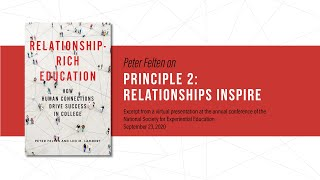 Principle 2: Relationships inspire students to learn