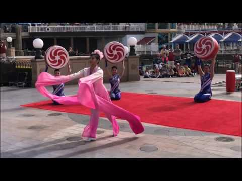 Acrobats of China at Disney Californnia Adventure! FULL SHOW! (2-2-17)