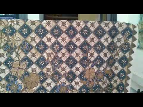 Traditional batik fabric the best quality of handmade by Batikdlidir