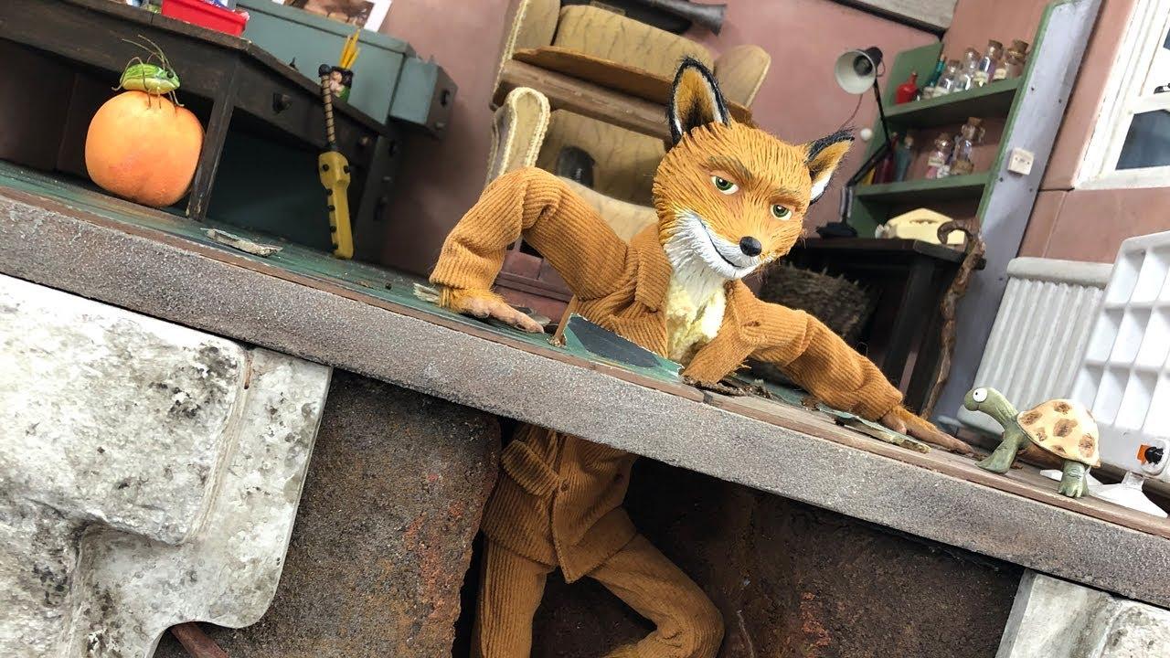 Fantastic Mr Fox 50th Anniversary Nfts Model Making Sets Puppets Build Youtube
