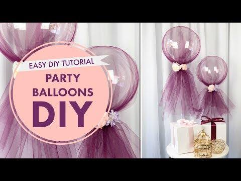 How To: Party Balloons Tutorial | DIY Event Decor | BalsaCircle.com