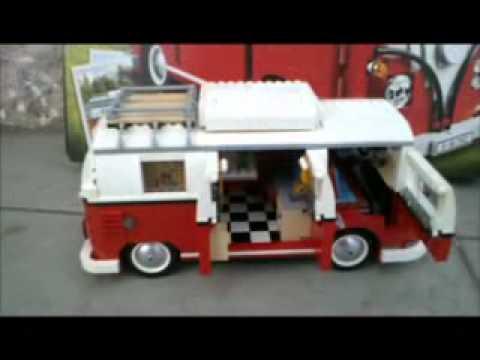 lego exclusive 10220 volkswagen t1 camper van!!! - youtube