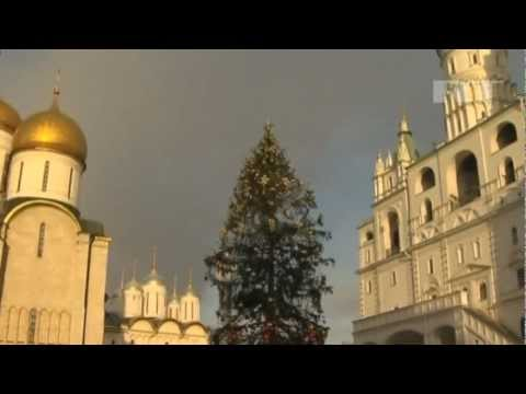 BEAUTIFULLY decorated Russia's 'BIGGEST CHRISTMAS TREE'  Kremlin Square, Moscow