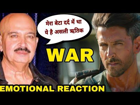 Rakesh Roshan emotional Reaction on War movie, Hrithik Roshan vs Tiger shroff, Krrish 4 Hint