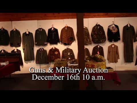Donley Auctions December 16th Gun & Military Auction 10am