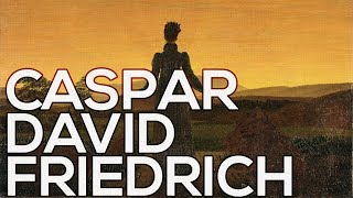 David Friedrich Caspar: A collection of 175 paintings (HD)