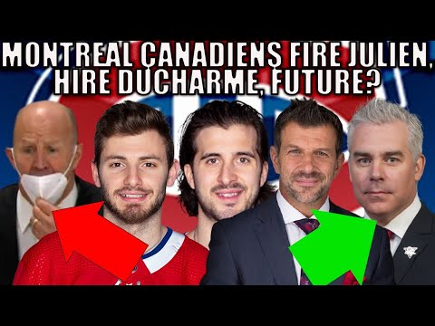 Potential Moves for the Montreal Canadiens 2021 | Claude Julien Fired, Ducharme, Habs Trade Rumours