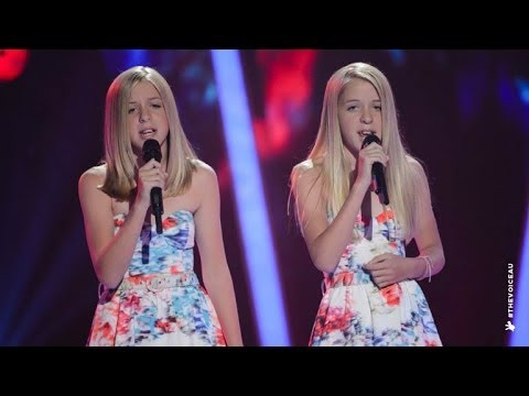 Katie and Emilie Sings Radioactive  The Voice Kids Australia 2014
