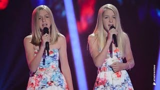 Katie and Emilie Sings Radioactive | The Voice Kids Australia 2014 thumbnail