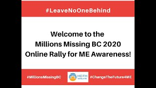 Millions Missing BC 2020 Online Rally