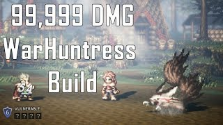 H'aanit the WarHuntress (99,999 Damage) - Octopath Traveler