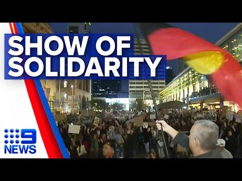 Perth Protest Highlights Indigenous Deaths In Custody   Nine News Australia
