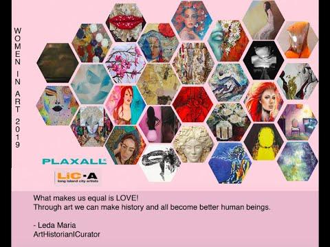 Women in Art 2019 - Plaxall Gallery NY