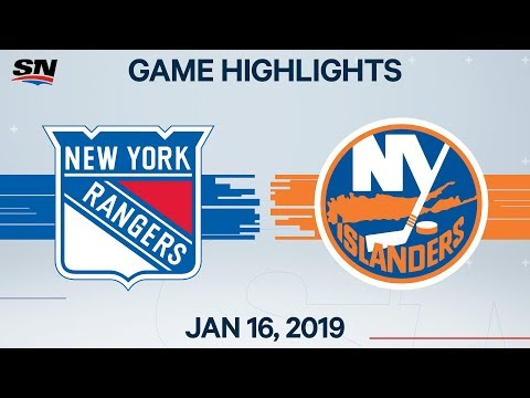 NHL Highlights | Rangers vs. Islanders – Jan. 16, 2020