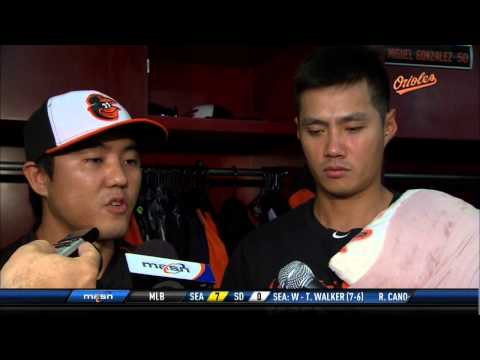 Wei-Yen Chen talks about his strong outing against the Rangers