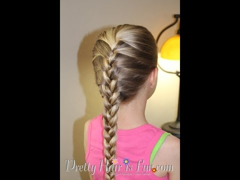 HOW TO DO A FRENCH BRAID! 😍