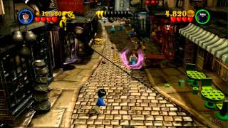 We Play Lego Harry Potter Years 1-4 - The Magic Begins - Diagon Alley
