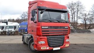 Тягач DAF XF105 | Обзор