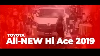 The all-new Toyota Hi Ace 2019 model (Official)
