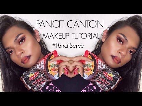 Pancit Canton Makeup Tutorial (EXTRA SPICY) #PancitSerye | Johnreyslife