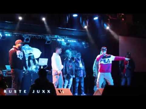 SKYZOO, RUSTE JUXX, MEMPHIS BLEEK LIVE AT BB KINGS NYC 1/15/18