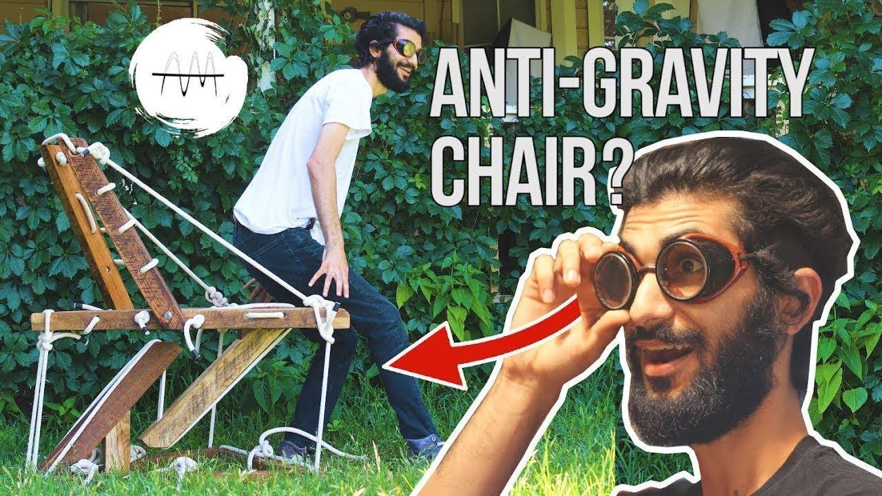 Βίντεο: Πώς να φτιάξετε καρέκλα που να αψηφά τη βαρύτητα