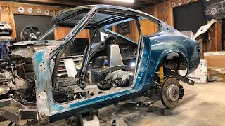 240Z Roll Cage Construction Part 2