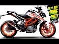 La mejor moto naked 300 para ciudad Duke 390 2017 Primeras impresiones