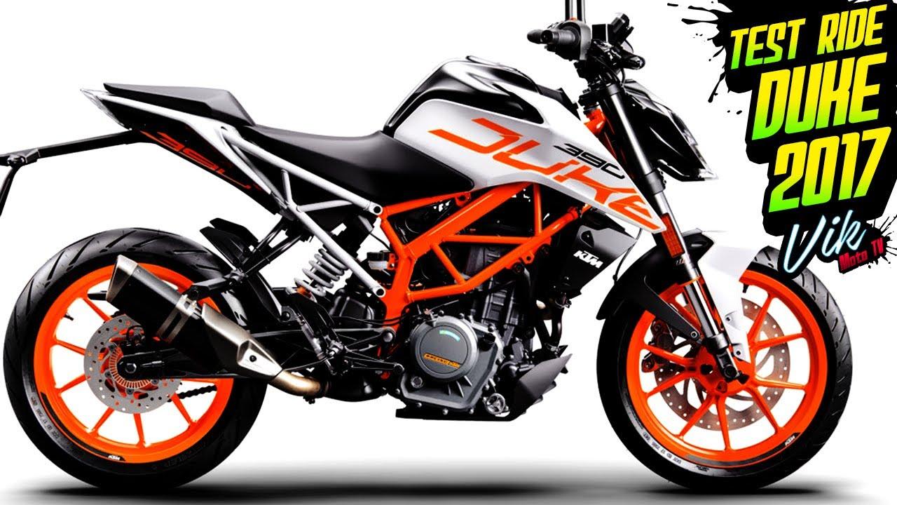 La Mejor Moto Naked 300 Para Ciudad Duke 390 2017 Primeras