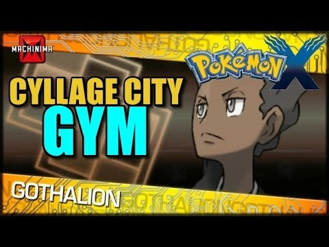 Cyllage City Pokemon Gym and Grant vs Pancham The HM Slave