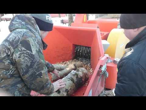 Видео дробилка для дерева своими руками изготовить видео