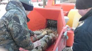 Измельчитель веток, дробилка для дерева.(, 2016-02-09T11:16:36.000Z)