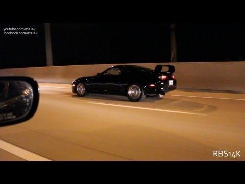 700 HP Toyota Supra vs 730 HP Supra vs LS3 Z28 Camaro