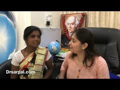 40 mm ovary cyst dissolved by homeopathy