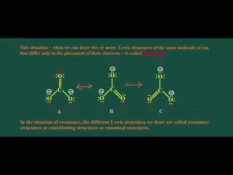 Introduction to Resonance (chemistry)