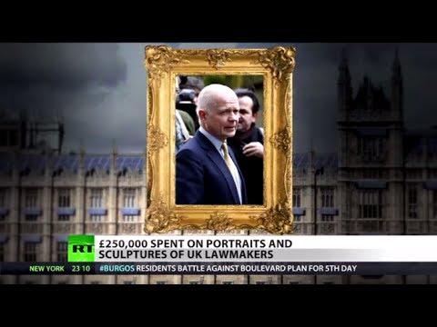 Vanity Art: UK MPs splash £250k of public cash on portraits