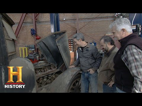 American Pickers: An Anonymous Buyer for a 1919 Series 9  History