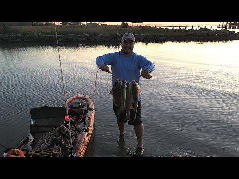 Galveston Texas Fishing Friday After Work ( GoPro 5 Black ) 4K