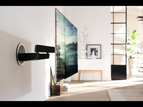 3d Motion Wallpaper For Mobile Vogels Next 7355 Elektrisch Schwenkbare Tv Wandhalterung