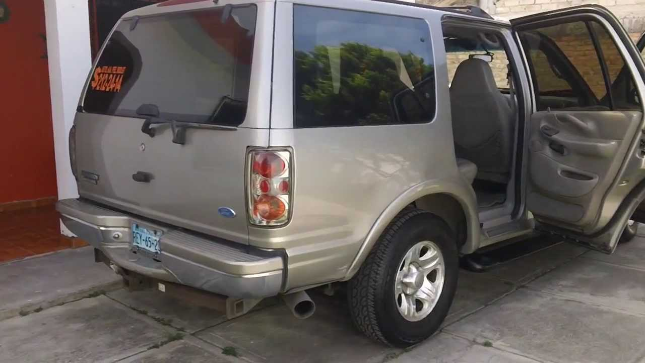 2001 Ford Expedition Eddie Bauer >> Camioneta Ford Expedition 1997 Eddie Bauer Tepic - YouTube