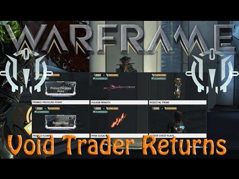 Warframe - Void Traders Returned! 60th rotation