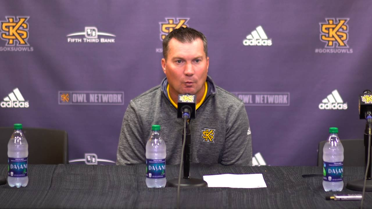 Brian Bohannon Kennesaw State Football Brian Bohannon Press Conference Oct 12