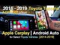 How to install Carplay/ Android Auto for 2016-2019 Toyota Tacoma Vehicles Using CRUX ACPTY-05