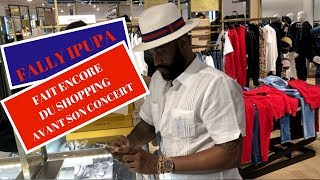 FALLY IPUPA FAIT ENCORE DU SHOPPING AVANT SON CONCERT