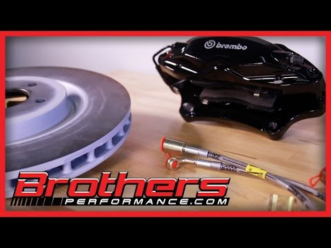 Ford Mustang Performance Brake Upgrades, Pads, Rotors, Lines, Kits Overview