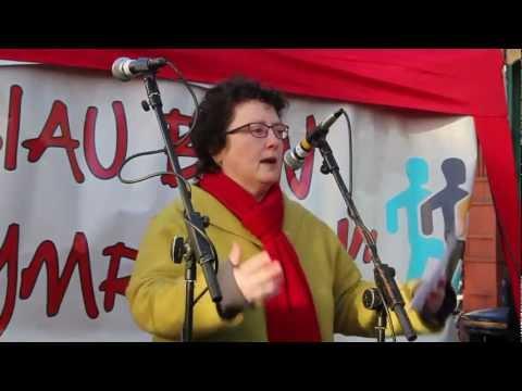 Rali'r Cyfrif Aberystwyth (rhan 1/4): Elin Jones