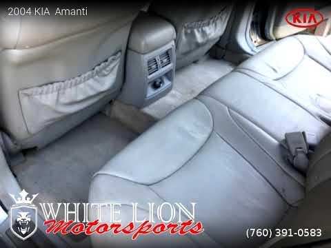 2004 KIA  Amanti - White Lion Motorsports